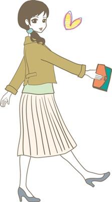 婚活デート1回目の服装はジャケットにプリーツスカート