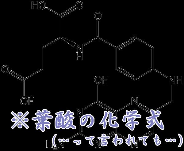 葉酸の化学式